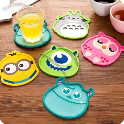 Creative Cute Silicone Coasters