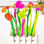 Creative Flowers Silicone Flexible Pen