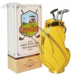 Creative Golf Pens and Pen Holder Set