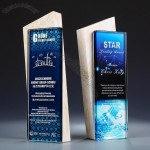 Creative Marble Award with Full Color Crystal Logo