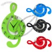 Creative Musical Note Wall Clock