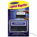 Credit Card Lighted Magnifier