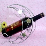 Crescent Shaped  Wine Bottle Holder