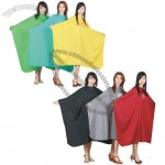 Crinkled Shinning nylon Cutting Cape
