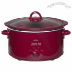 Crock-Pot 4-qt. Oval Slow Cooker - Red