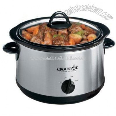 Crock-Pot 5-Qt.Stainless Steel Slow Cooker
