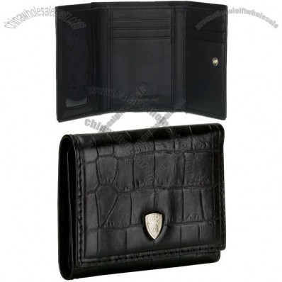 Crocodile Black Wallet