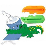 Crocodile Shaped Toothpaste Squeezer