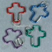 Cross Clip Key Chains
