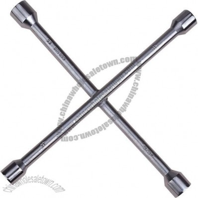 Cross Wrench with Spark Plug Wrench and Oil Filter Wrench Belt