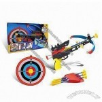 Crossbow Set Including Bow and Arrow