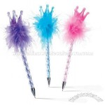 Crown Feather Pens-Party Supplies