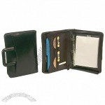Crown Leather Portfolio with Removable 1.5 Ring Binder