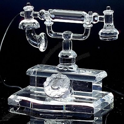 Crystal Antique Telephone