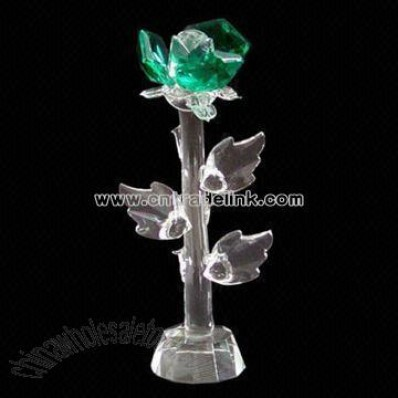 Crystal Flower Model, Ideal as Wedding Gift