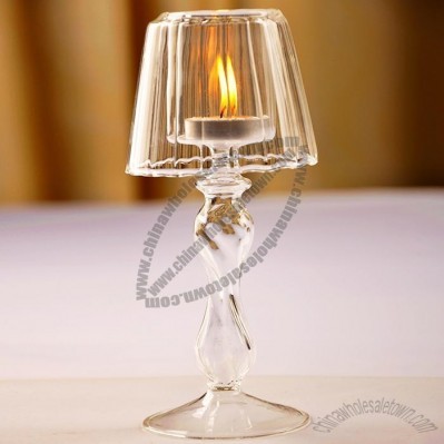 Crystal Glass Candlestick