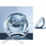 Crystal Globe Dome Paperweight