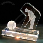 Crystal Golf Trophy
