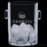 Crystal Hillcrest Ice Bucket