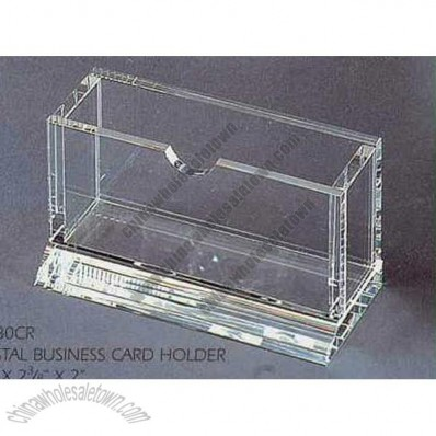 Crystal Series- Crystal Business Card Holder