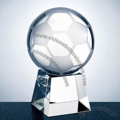 Crystal Soccer Ball Award