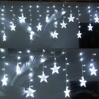 Crystal Star LED Light Curtain