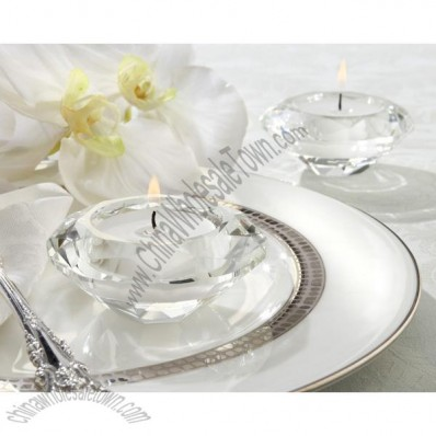Crystal Tea Light Holder Wedding Favors