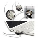 Crystal USB Flash Drive Necklace