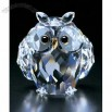 Crystal Wise Owl Figurine