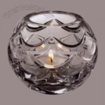 Crystal bowl style votive holder