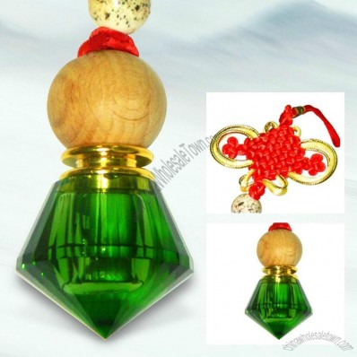 Crystal car perfume haning