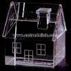 Crystal house shape paperweight