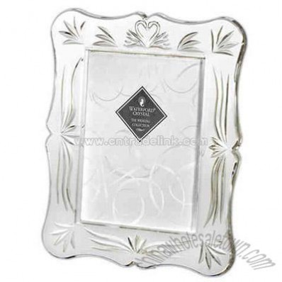 Crystal wedding photo frame