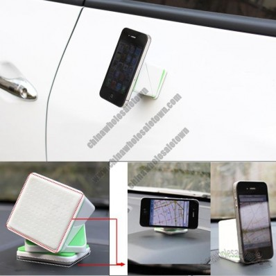 Cube Adsorption Car Holder Stand for Mobile Phone GPS iPad