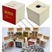 Cube Wooden Money Coin Bank