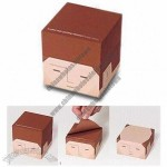 Cube-shaped Sticky Notepad