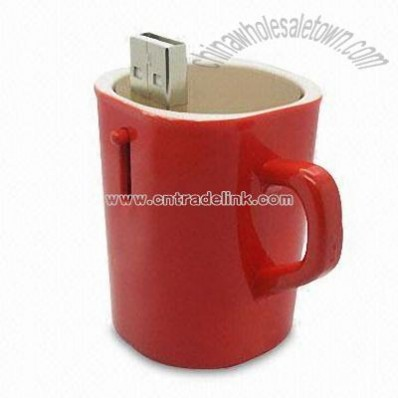 Cup Shaped USB Flash Drive