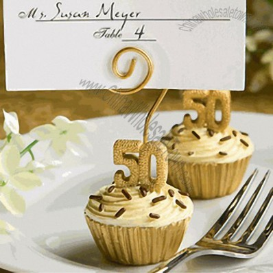 Cupcake Design 50 Favor Place Card Holders