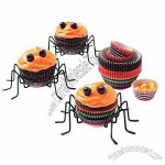 Cupcake Holders with Eight Spider Legs, Safe for Health