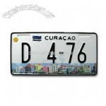 Curacao Number Plate