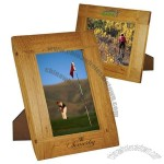 Curved Border Natural Wood Frame 5