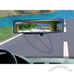Curved Rearview Mirror