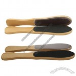 Curved Wooden Foot Files
