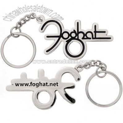 Custom 2D Die Cast Keychains, with Metal Mold