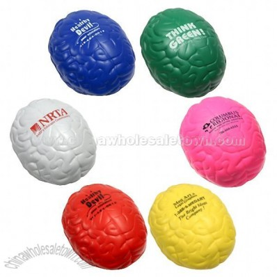Custom Colorful Brain Stress Reliever Ball