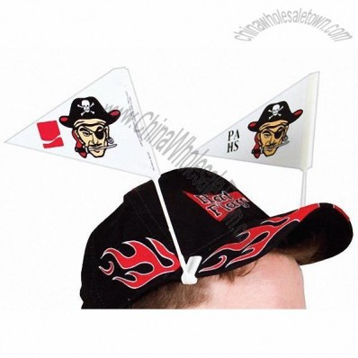 Custom Hat Flag Pennant Pairs