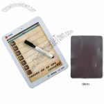 Custom Magnetic Memo Board with Wipe Pen