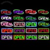 Custom Neon Open Signs