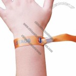 Custom Printed Logo GiveAway Fabric Wristbands