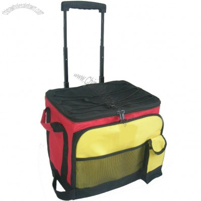 Custom individuation Rolling Cooler Bag